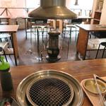 肉のオカヤマ直売所 - BBQコーナー