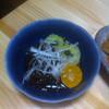居酒屋もうりもうり - 料理写真:沖縄もずく酢島みかん添え!