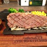 THE29KITCHEN - 黒毛和牛サーロインステーキ(150g、2,600円)