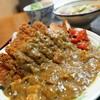 そば処 本陣 - 料理写真:カツカレー定食