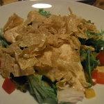 個室ダイニング 和ごころ - 和ごころサラダ 豆腐と湯葉