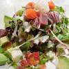 魚介とアボカドのサラダ