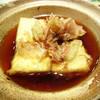 真鯛と豆腐の揚げ出し