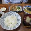筑波 - 料理写真:本日のサービス定食 山芋とろろ定食(竜田揚付) 800円