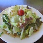 cafe 森のテラス - パスタセットのサラダ