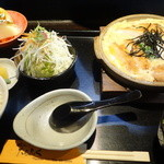 たらふく - 料理写真:かつ鍋御膳(ロース)¥1,300-