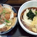 はるりん - カキとじ丼セット