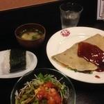 フタゴ亭 - 料理写真:ネギ焼きセット♪