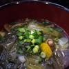 居酒屋路 - 料理写真:(2015.12) 温かい春雨スープ