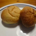 ena - あんぱんとぶどうパン