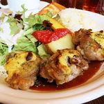 45872852 - 鶏もも肉のマスタード焼き(税込1000円)