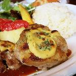 45872854 - 鶏もも肉のマスタード焼き(税込1000円)