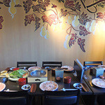 京都つゆしゃぶCHIRIRI - テーブル・セッティング