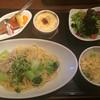 茶屋 草木万里野 - 料理写真:スパゲッティAセット