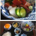 菊水 - 菊水(愛知県岡崎市)で刺身定食 食彩品館.jp撮影