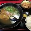 喜礼共亭 - 料理写真:ラーメン定食(からあげ)