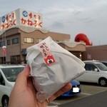 めんたいパーク - 「ジャンボおにぎり できたて明太子 (380円)」、やっぱ明太子にはご飯だな~