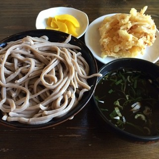 伊勢そば - 料理写真:もり天201510