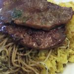 タベルナ・ラ・グロッタ - 牛肉の薄切りステーキ!