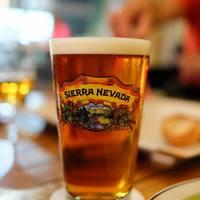 最高品質のビール、厳選ワインやバーボン等のビバレッジリスト