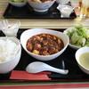 風の都 - 料理写真:四川山椒と唐辛子入り マーボー豆腐(陳麻婆豆腐)