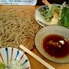 手打蕎麦 ちりん - 料理写真:ランチ『天せいろ』¥980-