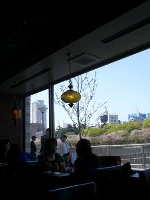 天満橋 リバーカフェ