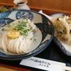 たじみ庵 - 料理写真:ぶっかけうどんのかきあげ盛り合わせセット\800