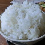 カフェレスト テンセブン - 料理写真:「特盛り」ご飯