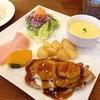 ル・クール - 料理写真:若鶏もも肉のモッツアレラチーズ焼きトマトソース