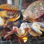 よしうみいきいき館 - 海鮮焼き