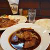 グリル まどか - 料理写真:名物 牛ロースたまり焼き&ビーフシチュー