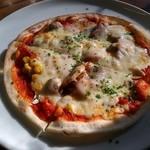 のこのこ - ランチセットのピザ