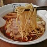 麺屋 翔 - 細麺(ブラック普通)