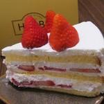 ハーブス - ストロベリーケーキ(800円)