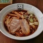 麺屋 翔 - ブラック細麺(普通)600円