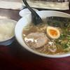 一八亭 - 料理写真:Aセット(醤油ラーメン+餃子3個+半ライス) ¥780