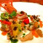 cucina Wada - 海の幸盛り合わせ