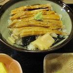 割烹 司 -  ランチセット 穴子丼