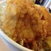 さん天 - 料理写真:鶏天丼大盛り(560円)を頂きました。
