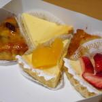 フロプレステージュ - 料理写真:お試しタルトセット