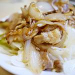 かんだ食堂 - 野菜たっぷりの豚丼