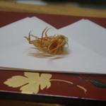 天ぷら たけうち - お頭