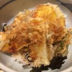 45944813 - ランチセットの野菜天丼