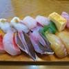 巴寿し - 料理写真:地魚寿し 1500円外税 (^^