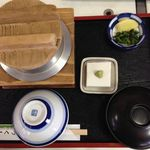 つくも食堂 - 釜めし定食 2015.12.06