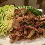 ひまわり - 涼拌辛い豚肉