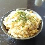 麺屋 すずらん - 鯛めし。鯛の炊き込み御飯です。