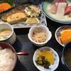 魚亭 菊や - 料理写真:日替り定食=972円 税込 ※さばの塩焼
