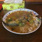 アッチャ - 魚カレー(1200円)この日は秋刀魚